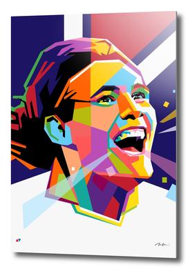 Cavani PSG pop art wpap