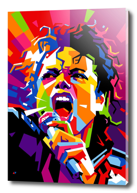 michael jackson king of pop wpap pop art