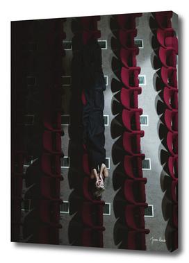 Theatre woman