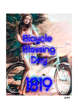 Bicycle Blessing Day. 1819