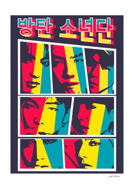 BTS - Bangtan Sonyeondan Member