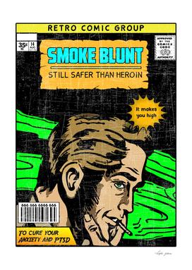 SMOKE BLUNT COMIC