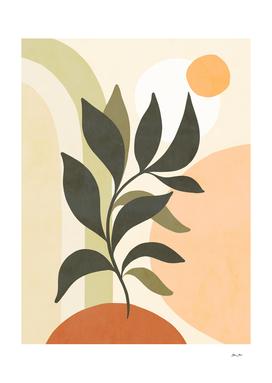 Earthy Tropical Foliage nº2