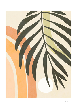 Earthy Tropical Foliage nº3