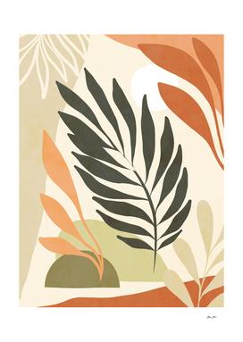 Earthy Tropical Foliage nº6