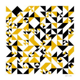 Yellow and Black Arabesque