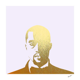 Kanye in Gold