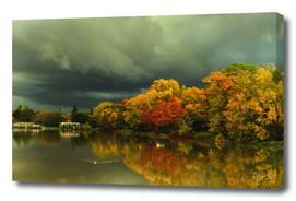 Autumn on Avon River, Stratford