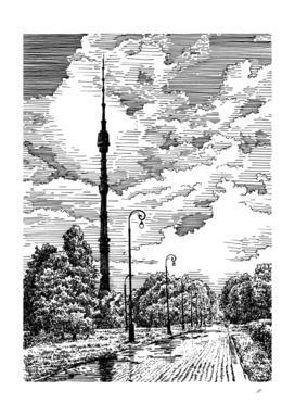 MSK.Ostankino TV tower img