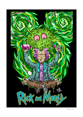 rick and morthy trippy