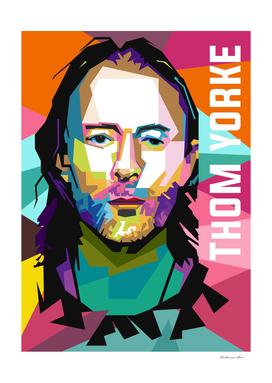 thom yorke portrait wpap