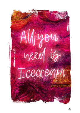 NEON COLLECTION - icecream