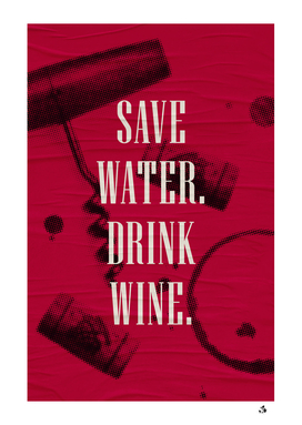 ADULTING - SAVE WATER 2