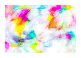 colorful painting texture abstract background in pink yellow