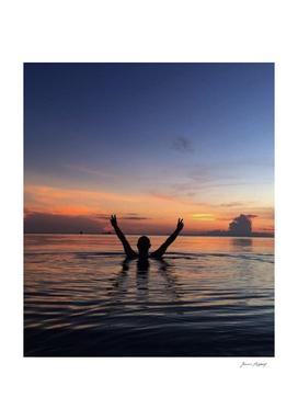 Sunset on Leyte