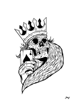 Skeleton King Poker