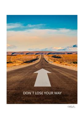 Inspirational Phrase Landcape Poster