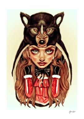 Red Latex Riding Hood