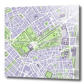 St James park map London