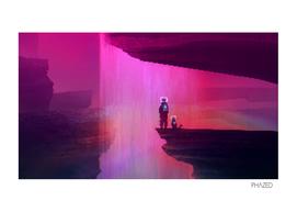 Waterfall | PixelArt #8 (GIF)