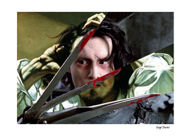 Courbet's The Desperate Man and Edward Scissorhands