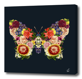 Spring Butterfly Floral