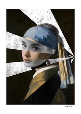 "Vermeer's ""Girl with a Pearl Earring"" & Audrey Hepburn"