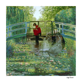 Claude Monet's The Water-Lily Pond and Amelie Poulain