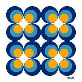 60s 70s funky retro circle psychadelic geometric