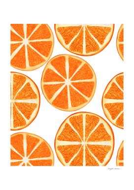 Orange Lemon Pattern