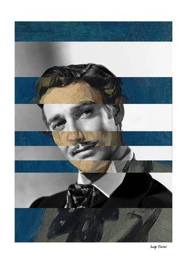 Picasso's Portrait of Renart & Clark Gable