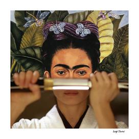 Kill Bill's O-Ren Ishii & Frida Kahlo
