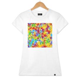 dandelion abstraction  impression