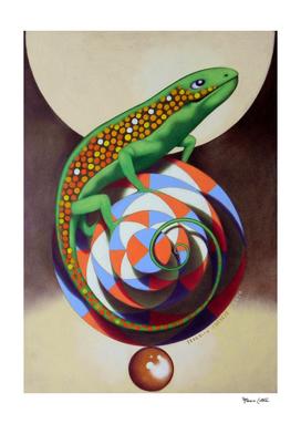 The circus lizard