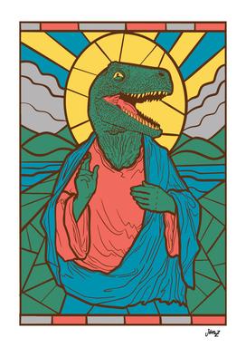 Dinosaur Jesus