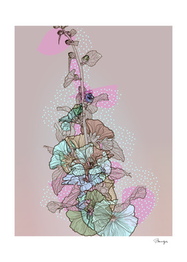 Pastel flowers, BeaYourself