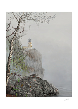 North Shore Lighthouse in the Fog