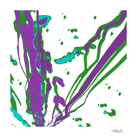 Multicolored Abstract Print