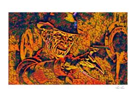 A Nightmare on Elm Street Freddy Krueger Angry Artist