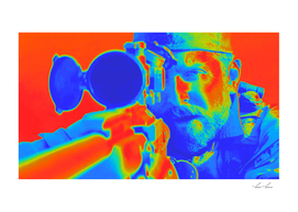 American Sniper Chris Aming Artistic Illustration The