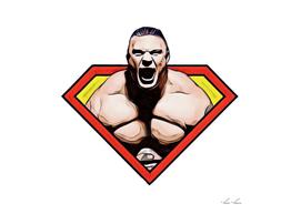 Brock Lesnar Super Hero Style Bodybuilder Mass Muscle