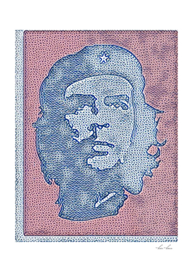 Che Guevara Ideal Artistic Illustration Book Cover St