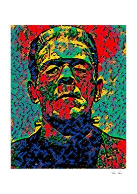 Frankenstein Resurrecting Artistic Illustration Dripp