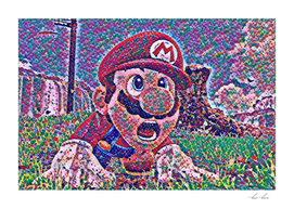 Mario Artistic Illustration Color Tips Style