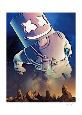 Marshmellow Space Travel  Desert Stars Incredible Fly