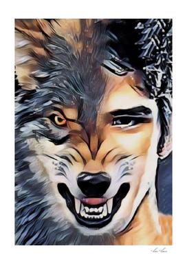 Teen Wolf Angry Morph Predator Attitude Chad Duh