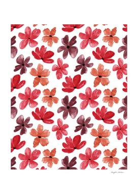 Cute Petal Floral Pattern
