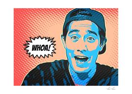 Zach King Artistic Illustration Comic Style