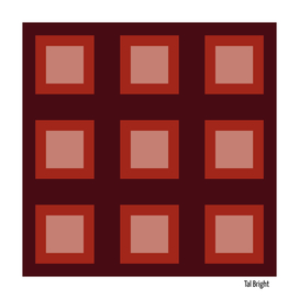 Retro 70s 60s vintage pattern - brown styles