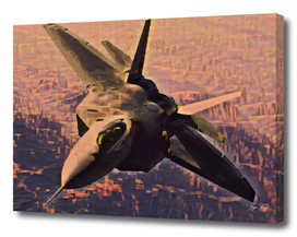 Jet brown ground ultrasonic aileron stealth operation